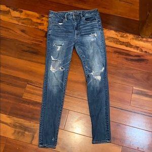 American eagle super stretch skinny jeans!!